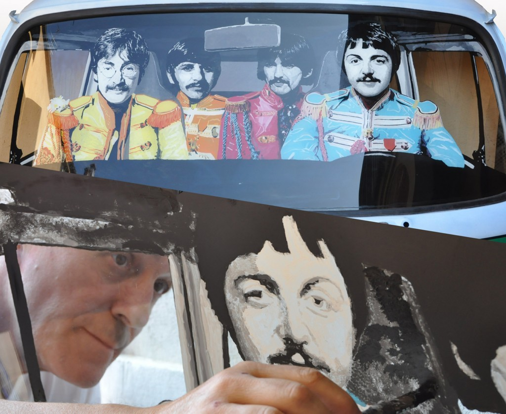 BEATLES E RETRO PITTURA 2013